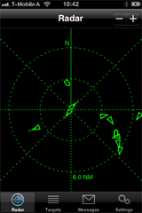 AIS Radar Screenshot