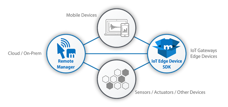 Remote edge device management for IoT